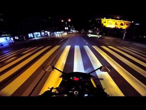 Belgrade at night: GoPro