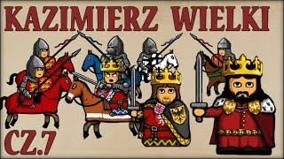 Kazimierz III Wielki cz.7  (Historia Polski #65) (1345-1348) - Historia na Szybko