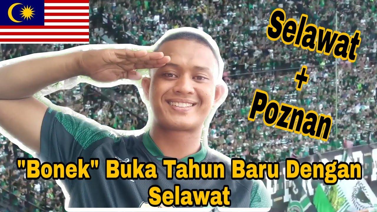 Download Bonek Selawat dan Poznan Dance / Malaysia Reaction / Persebaya vs Persik Kediri