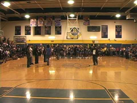 M BEEZY PERFORMING @ RICKARDS HIGH SCHOOL PEP RALLY TALLAHASSEE FLORIDA