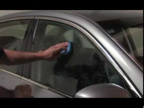 How to Apply Car Window Tint to Your Vehicle - How to Install Window Tint  using Alpena Products