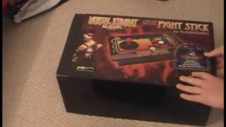 Mortal Kombat Klassic Fight Stick Unboxing