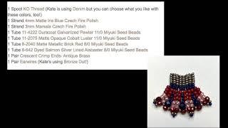 Free Tip Friday: Seed Bead Earrings with New Metal Findings