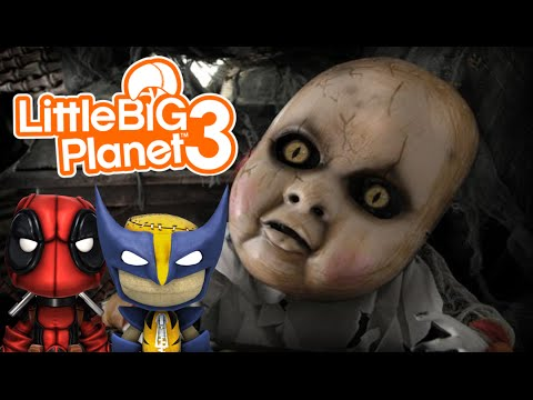 Amy's Horror House! | Little Big Planet 3 Multiplayer (24)