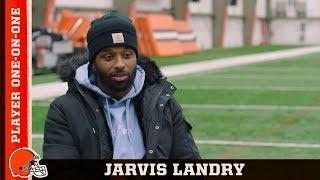 Jarvis Landry: One-on-One   Browns All Access