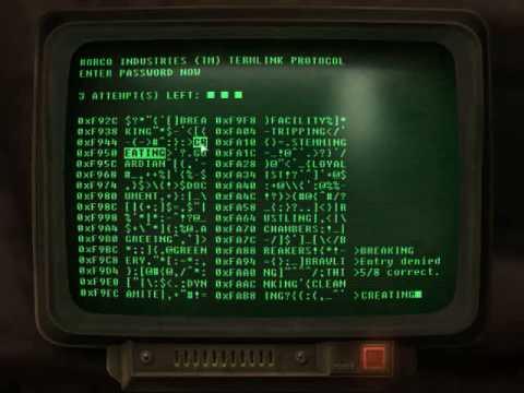 Fallout 3 Hacking GUIDE