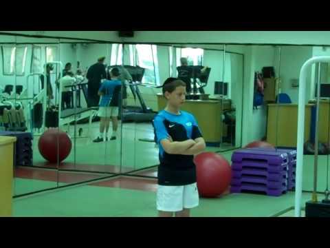 Jerusalem school for the blind exercise room