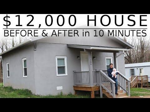 $12,000 HOUSE - One Man Renovation