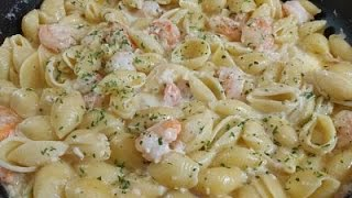 Seafood Pasta In A Creamy White Sauce Episode 147