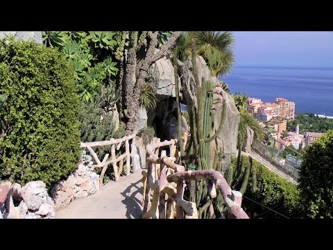 Monaco, Exotic Garden (Jardin Exotique) [HD] (videoturysta.eu)