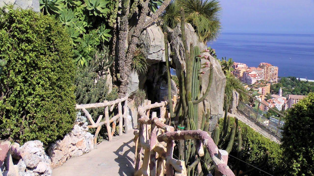 Monaco exotic garden jardin exotique hd videoturysta for Jardin exotique