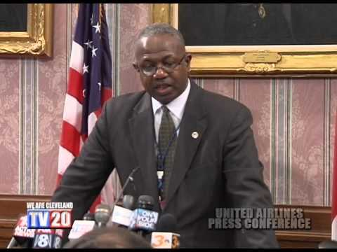 Press Conference- United Airlines Decision to Pull Hub out of Cleveland Hopkins Airport