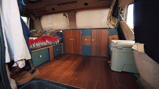 Custom DIY Campervan | FULL TOUR