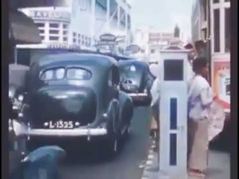 "Surabaya Tempoe Doeloe "" Suasana Jalan Dan Toko Nam Di Tunjungan 1930"""