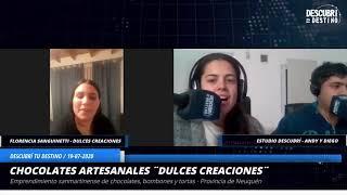"""Florencia Sanguinetti - Emprendimiento """"Dulces Creaciones"""" - San Martín de los Andes - Prov. Neuquén"""