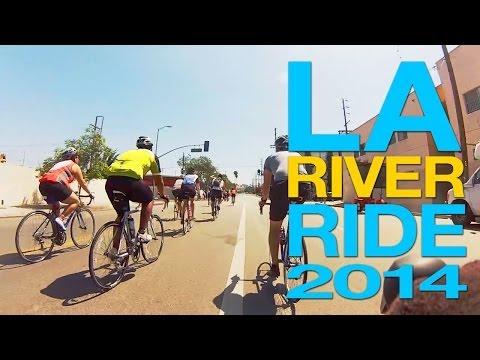 LA River Ride 2014 Annual Los Angeles, California