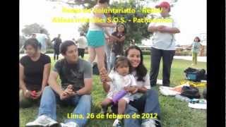 Redes de Voluntariado - RedeV en Aldeas Infantiles S.O.S. - Pachacamac (26/02/2012)