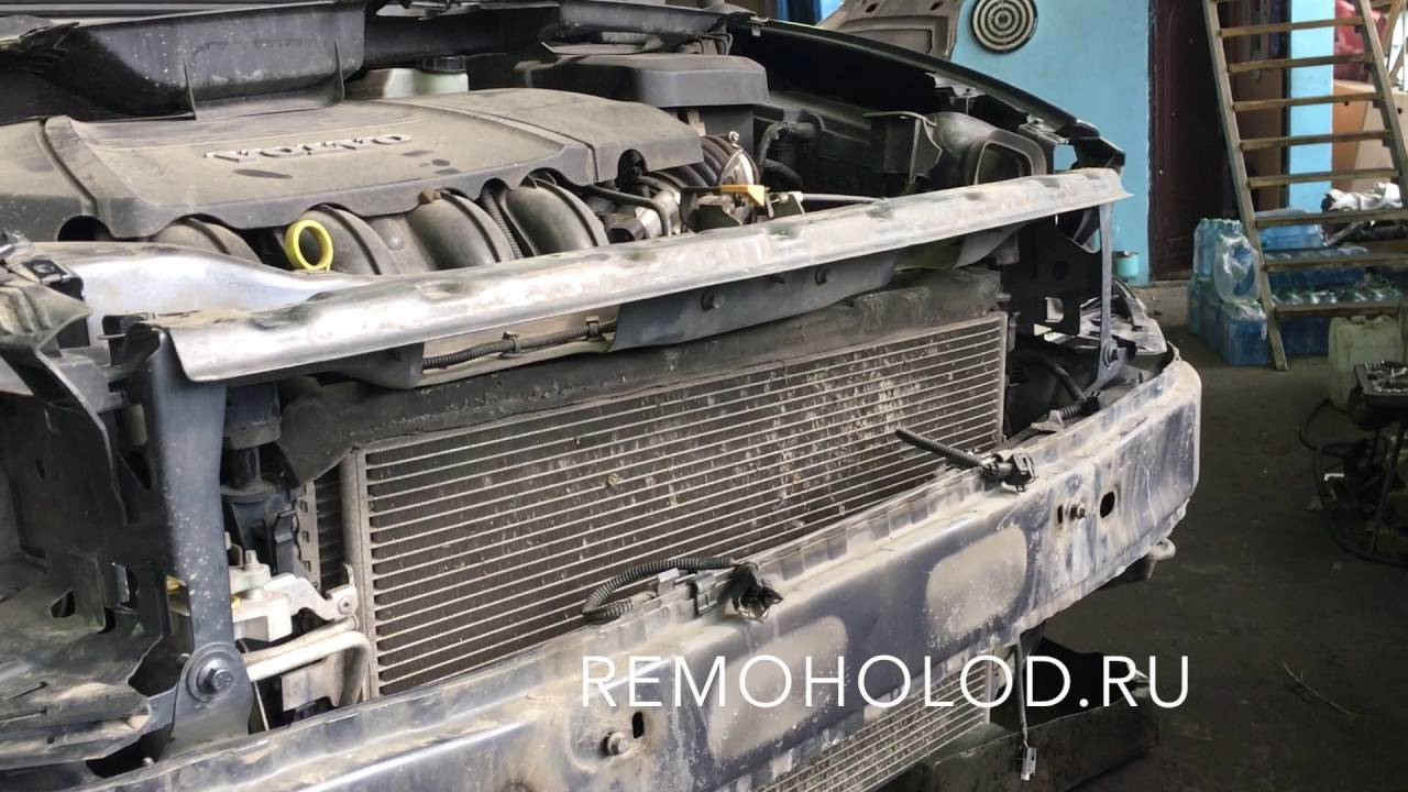 VOLVO S40 ремонт кондиционера