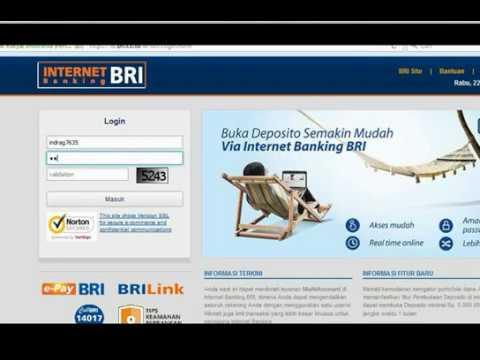 Cara Bayar Speedy lewat Internet Banking Bri - YouTube
