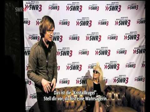 Lady Gaga lernt deutsches tanzen