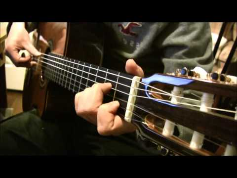 Katyusha - Fingerstyle Guitar Tab