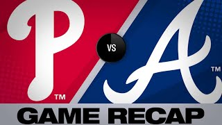 Hernandez's single leads Phillies to 6-5 win | Phillies-Braves Game Highlights 6/15/19