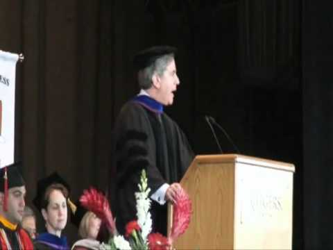 Rutgers School of Business - Camden, Commencement Keynote speaker - 2011
