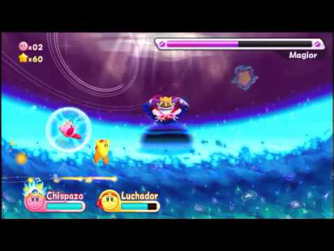 Kirby's Adventure Wii: Game through (cap15 Final)