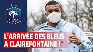 Les Bleus sont à Clairefontaine Equipe de France I FFF 2021