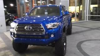 2018 Tacoma TRD 4X4 Off Road review of the Legacy Trail Edition Package