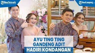 Download Lagu Artis Ayu Ting Ting Tampil Cantik Gandeng Adit Jayusman Hadiri Kondangan MP3