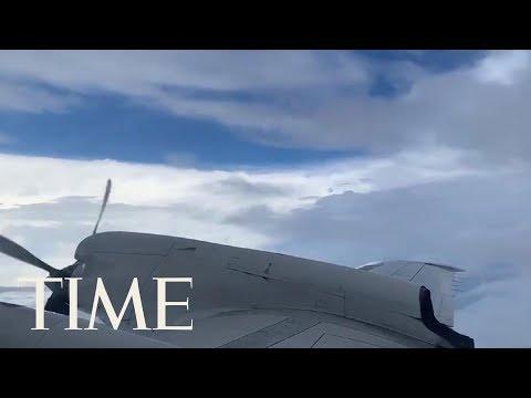 See Inside The Eye Of Hurricane Dorian   TIME