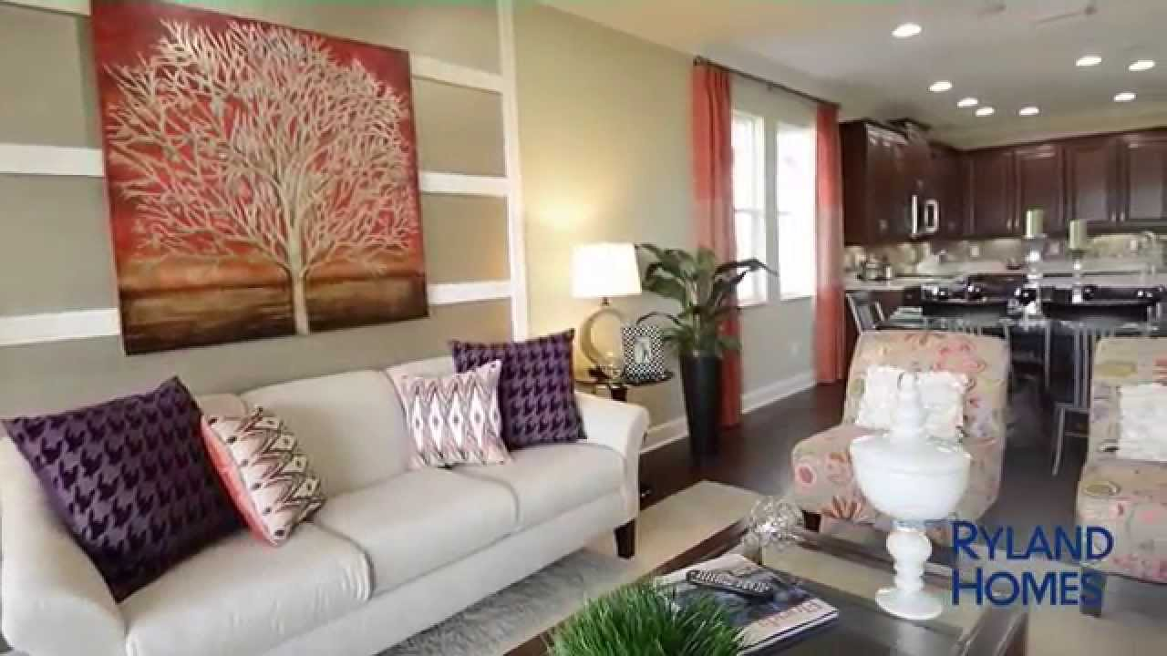 Ryland homes frost ii model home at fishhawk ranch for Free virtual home tours online