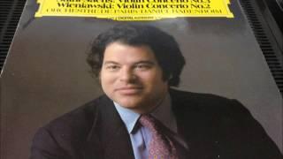 ヴィェヤニフスキー ヴァイオリン協奏曲第2番 パールマン(Vn)