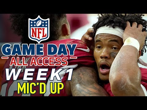 NFL Sunday Week 1 Mic'd Up! | Game Day All Access