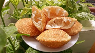 Bánh TIÊU. Bí quyết ruột bánh tiêu có rễ tre của Đậu Đỏ Trần