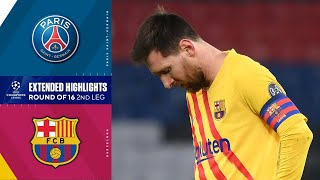 Paris Saint-Germain vs. Barcelona: Extended Highlights | UCL on CBS Sports