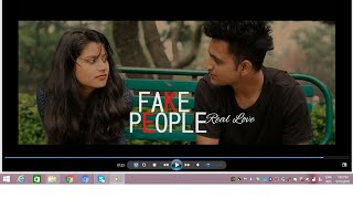 Fake People Real Love | True Love Story | Latest Hindi Short Film ! Click on (i)