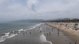 We Went To California For A Day! | Venice Beach, Santa Monica Pier & Pacific Ocean!