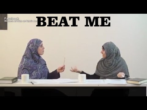 Islamic Domestic Abuse is Beautiful According to Victims - Muslim Women Virtue Violence On Women