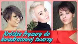 Top 20 🌟 najlepszy krótkie fryzury do kwadratowej twarzy 2019