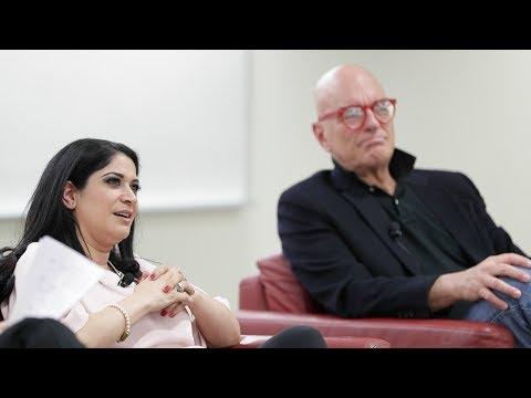 Broadcaster Stephen LeDrew & Adrienne Batra, Editor-in-Chief, Toronto Sun