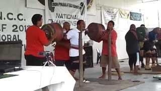Robert Kun Squatting 300kg Raw
