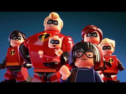 LEGO Los Increibles 2 - Pelicula completa en Español 2018 - PC [1080p 60fps]
