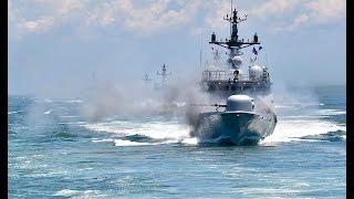[해군제공] 제2연평해전 전사자 6명 이름 딴 윤영하급 미사일 고속함 6척의 이례적인 동시 기동 및 사격훈련 영상