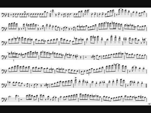 Mark Nightingale 'I'm Old Fashioned' Trombone Solo Transcription