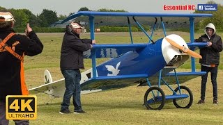 WORLD'S LARGEST RC 65% SCALE Fokker DR.I DREIDECKER/TRIPLANE [*Ultr...