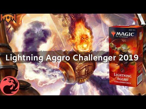LIGHTNING AGGRO Challenger Deck 2019 MTG *The Meta Game*