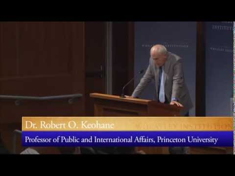 Field Experiments in International Relations - Dr. Robert O. Keohane