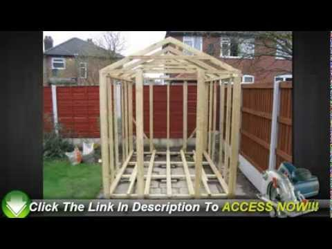 Cheap Garden Sheds Save Money By Building It Yourself